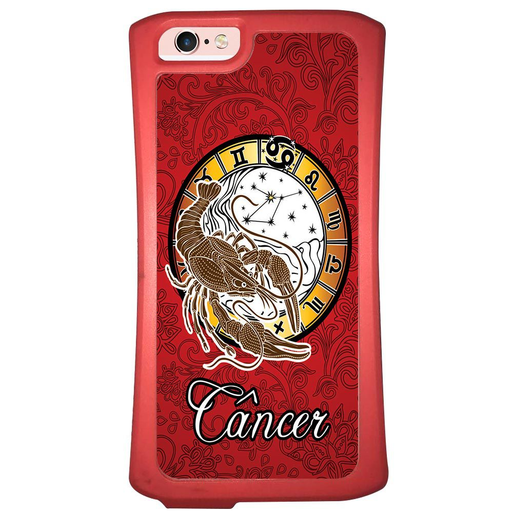 Capa Intelimix Velozz Coral Apple iPhone 6 6S Signos - SN04