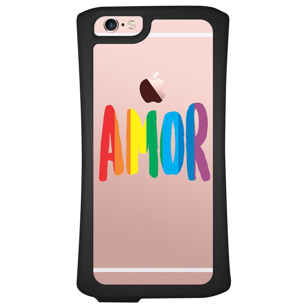Capa Intelimix Velozz Preta Apple iPhone 6 6S LGBT - LB01