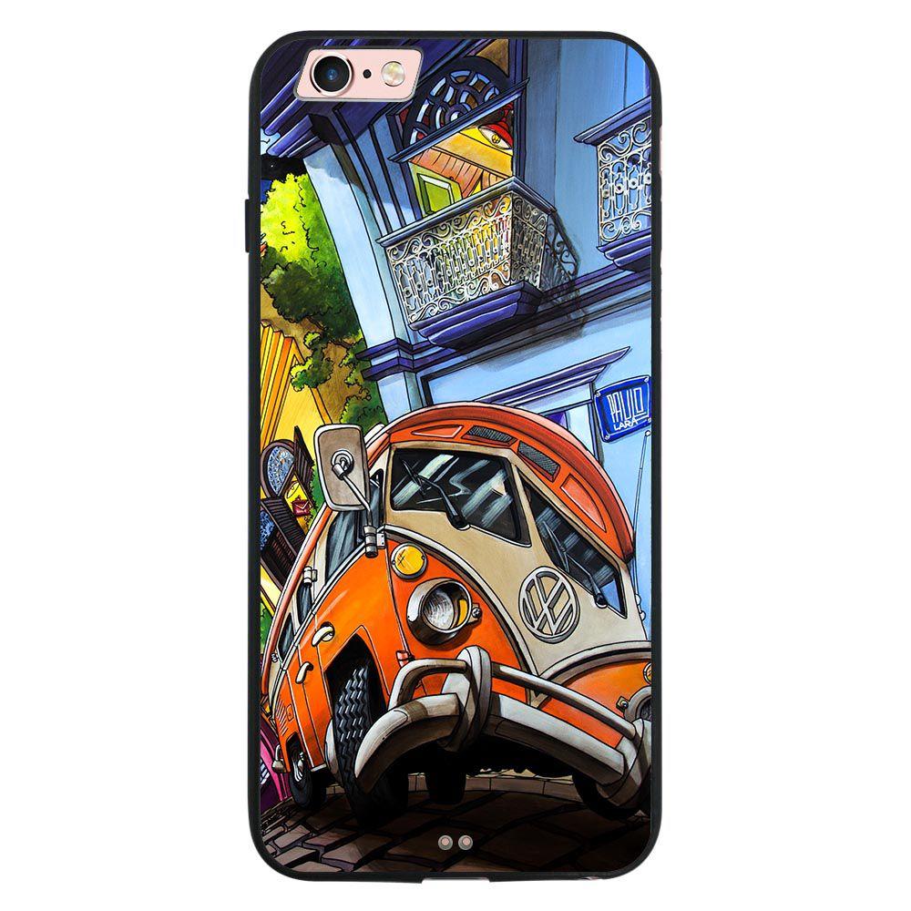 Capa My Capa Preta Apple iPhone 6 6s Designer - DE31