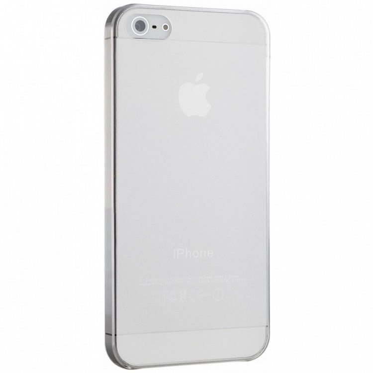 Capa Intelimix Nuance Apple iPhone 5 5S SE - Transparente