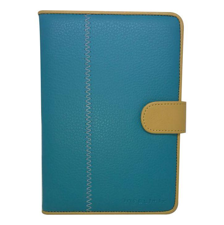 Capa Intelimix Leveza Apple iPad Mini - Turquesa com Mostarda