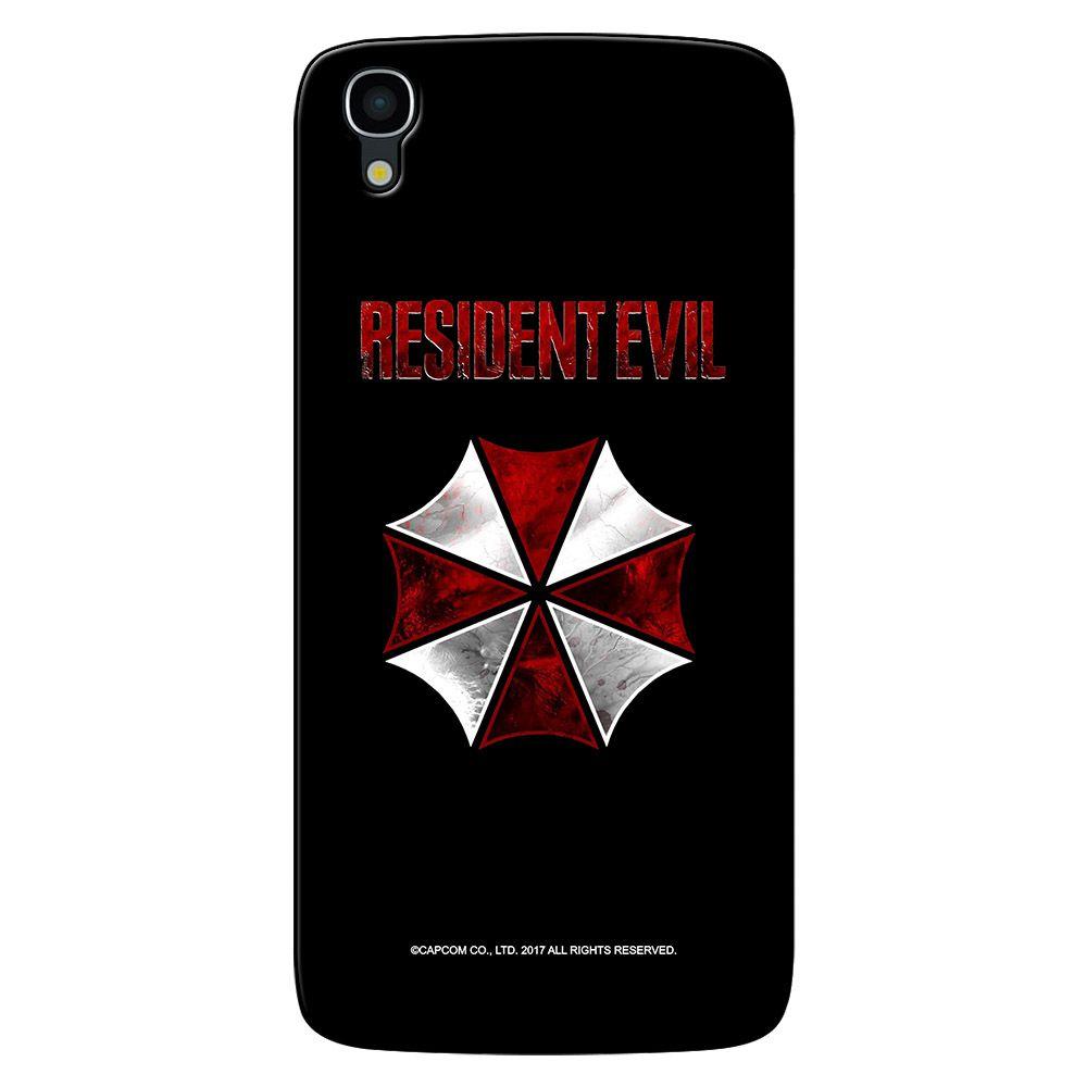 Capa Personalizada Alcatel Idol 4 5.2 - Resident Evil Umbrella Corporation - RD04