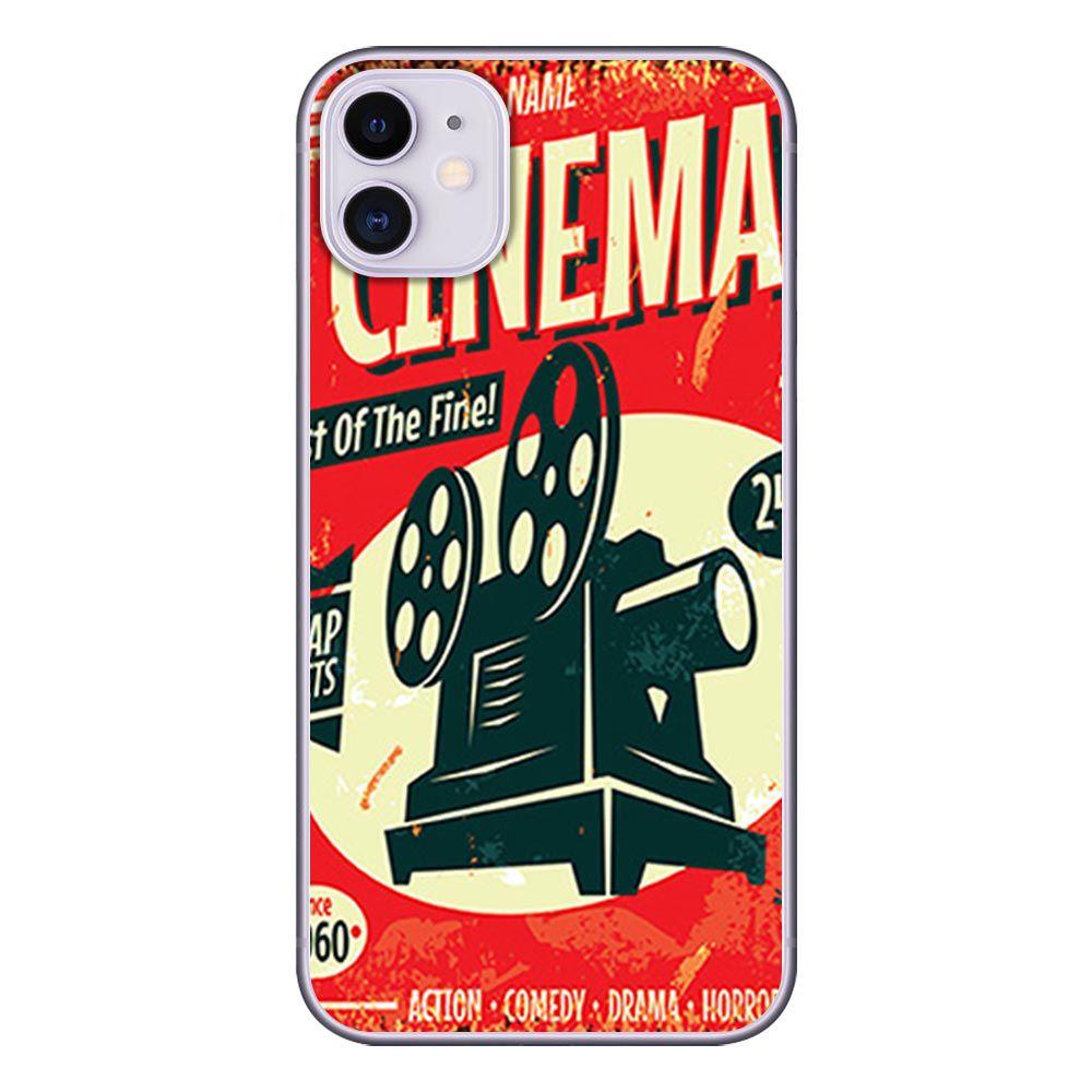 Capa Personalizada Apple iPhone 11 - Cinema - VT08