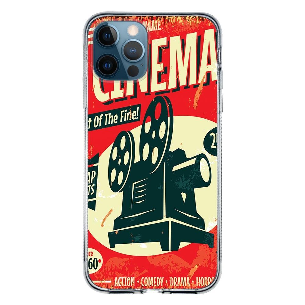 Capa Personalizada Apple iPhone 12 Pro Max - Cinema - VT08