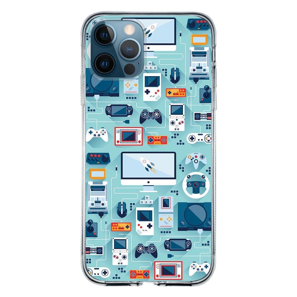 Capa Personalizada Apple iPhone 12 Pro Max - Games - VT13