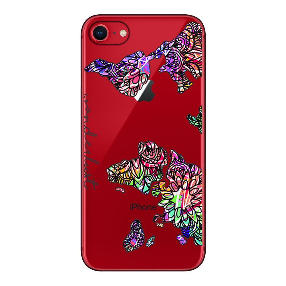 Capa Personalizada Apple iPhone SE 2020 - Wanderlust - TP384