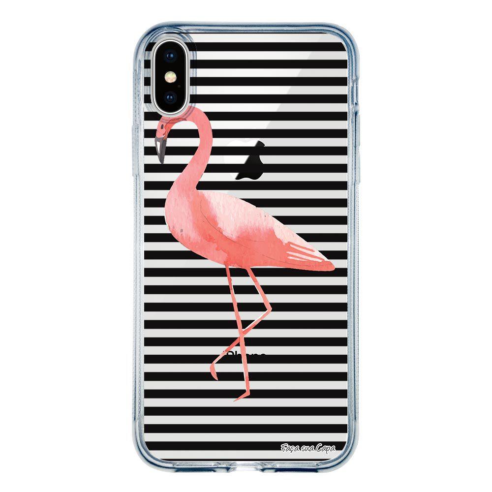 Capa Personalizada para Apple iPhone XS Max Flamingo - TP317
