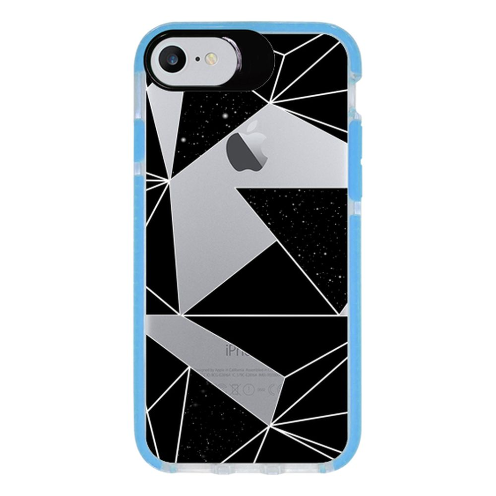 Capa Personalizada Intelimix Intelishock Azul Apple iPhone 7 - Abstrato - TP374