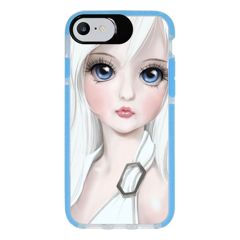 Capa Personalizada Intelimix Intelishock Azul Apple iPhone 7 - Designer - DE06