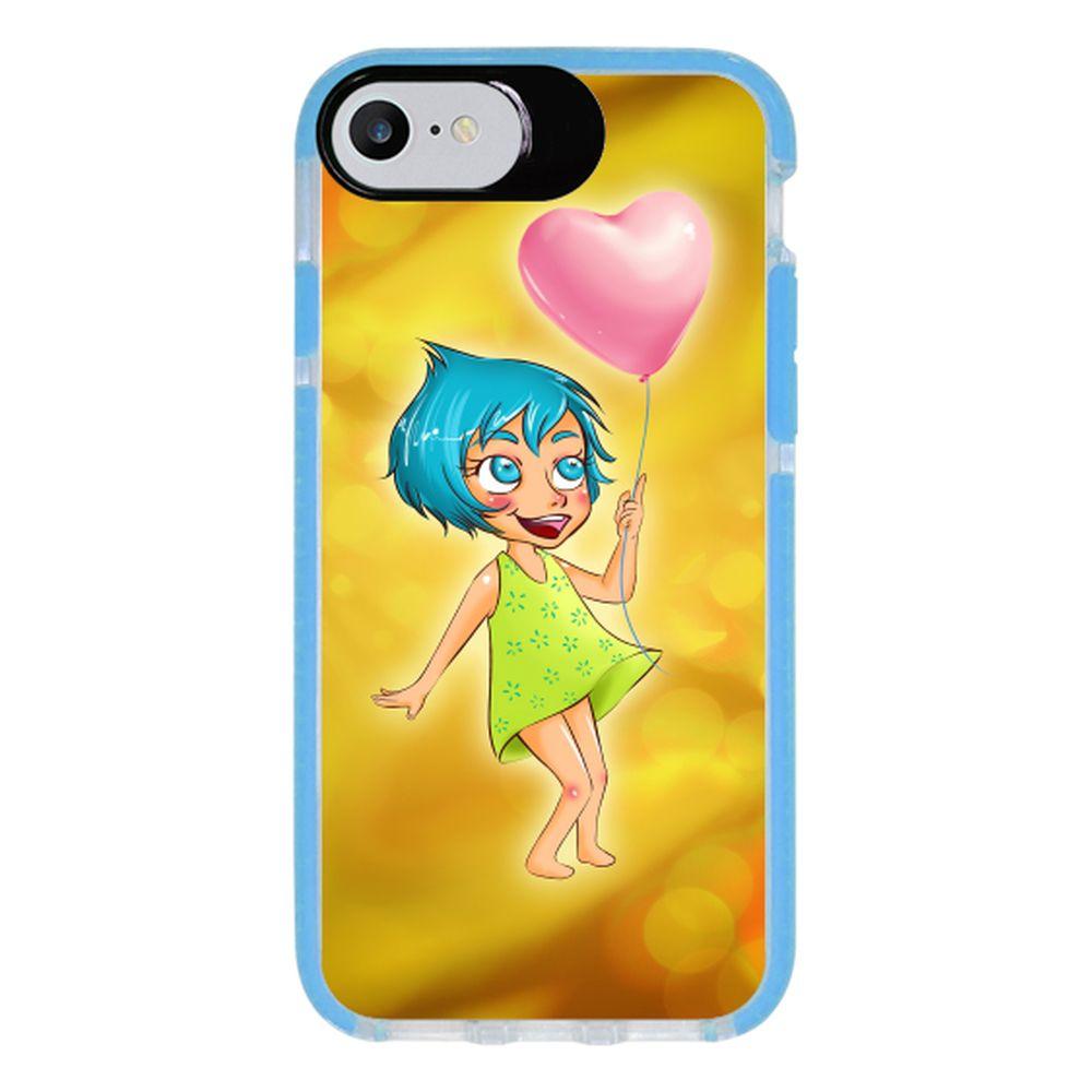 Capa Personalizada Intelimix Intelishock Azul Apple iPhone 7 - Designer - DE07