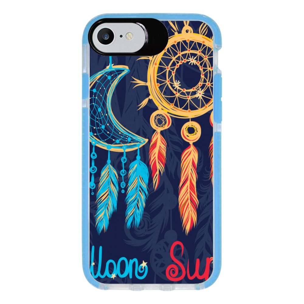 Capa Personalizada Intelimix Intelishock Azul Apple iPhone 7 - Filtro dos Sonhos - AT64