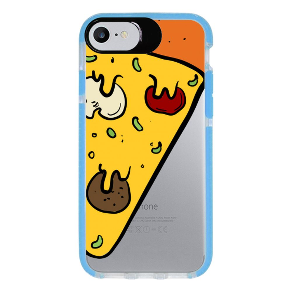 Capa Personalizada Intelimix Intelishock Azul Apple iPhone 7 - Food - TP380