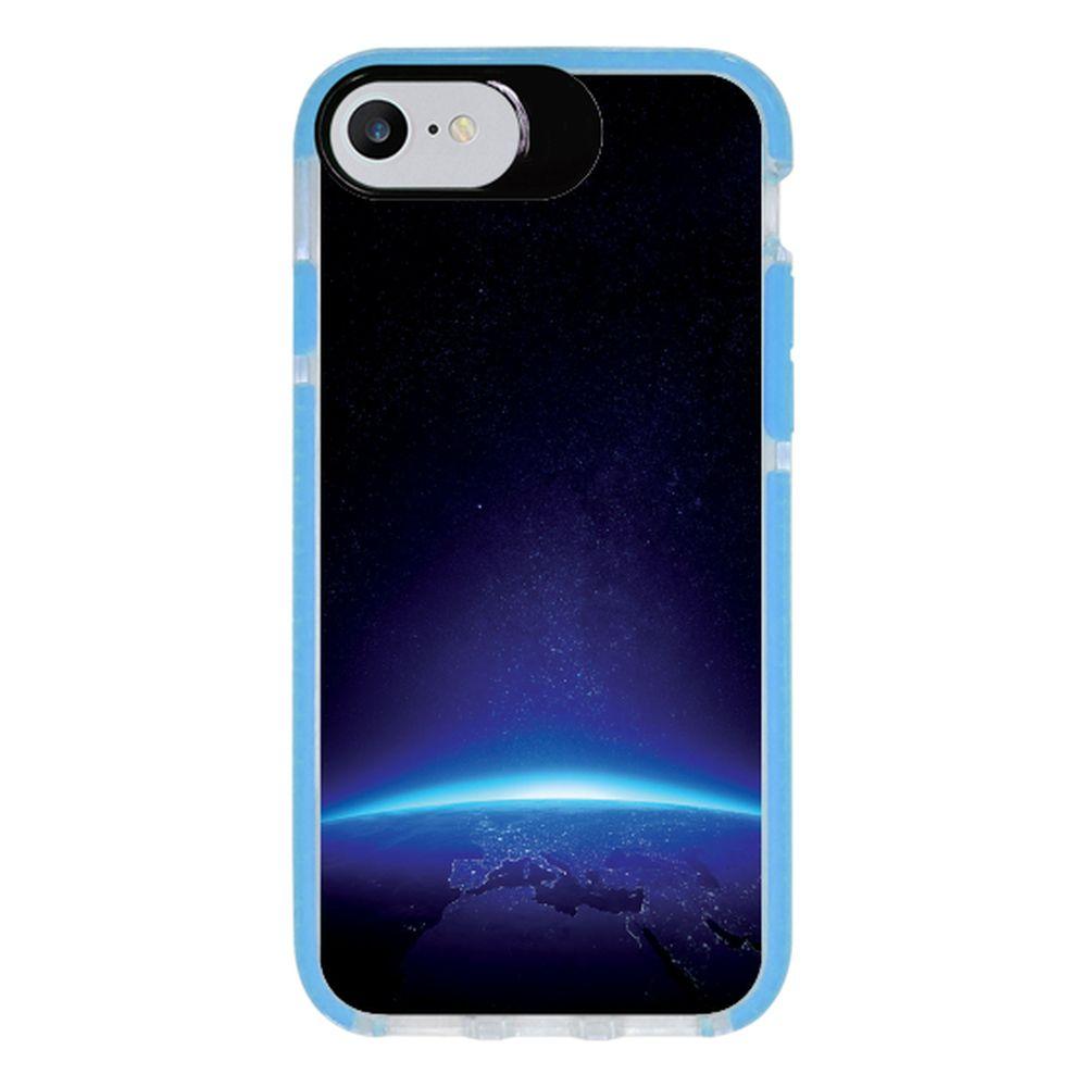 Capa Personalizada Intelimix Intelishock Azul Apple iPhone 7 - Hightech - HG01