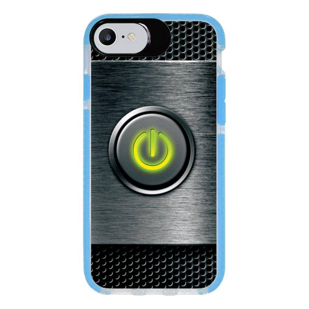 Capa Personalizada Intelimix Intelishock Azul Apple iPhone 7 - Hightech - HG07