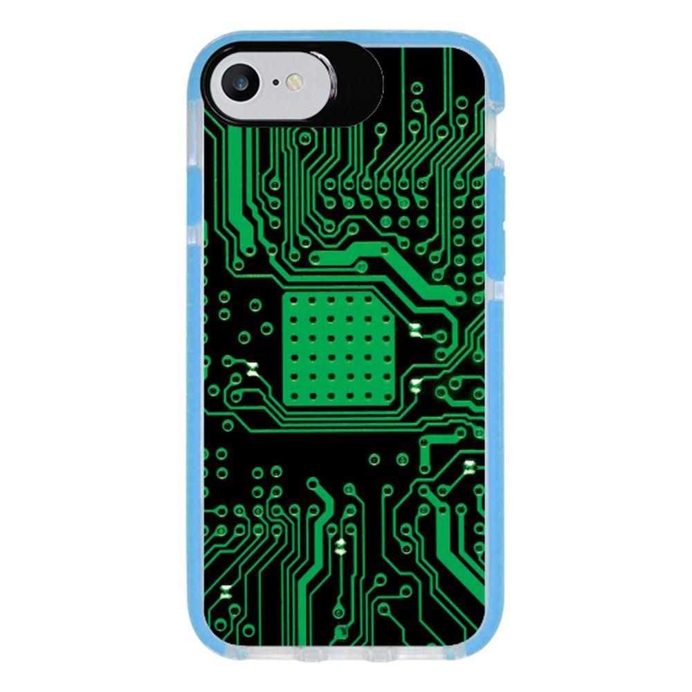 Capa Personalizada Intelimix Intelishock Azul Apple iPhone 7 - Hightech - HG08