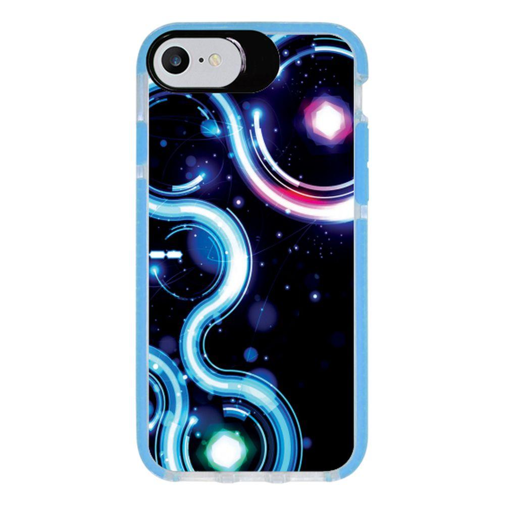 Capa Personalizada Intelimix Intelishock Azul Apple iPhone 7 - Hightech - HG10