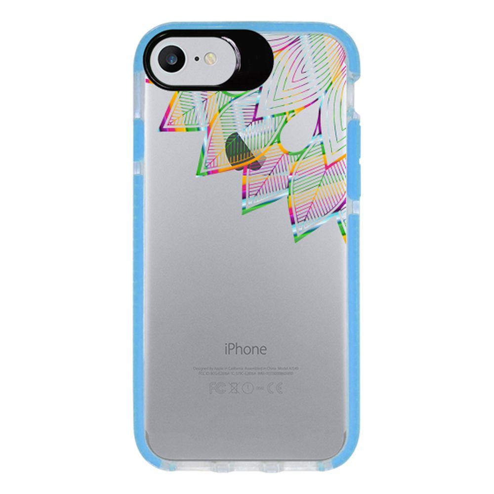 Capa Personalizada Intelimix Intelishock Azul Apple iPhone 7 - Mandala - TP250