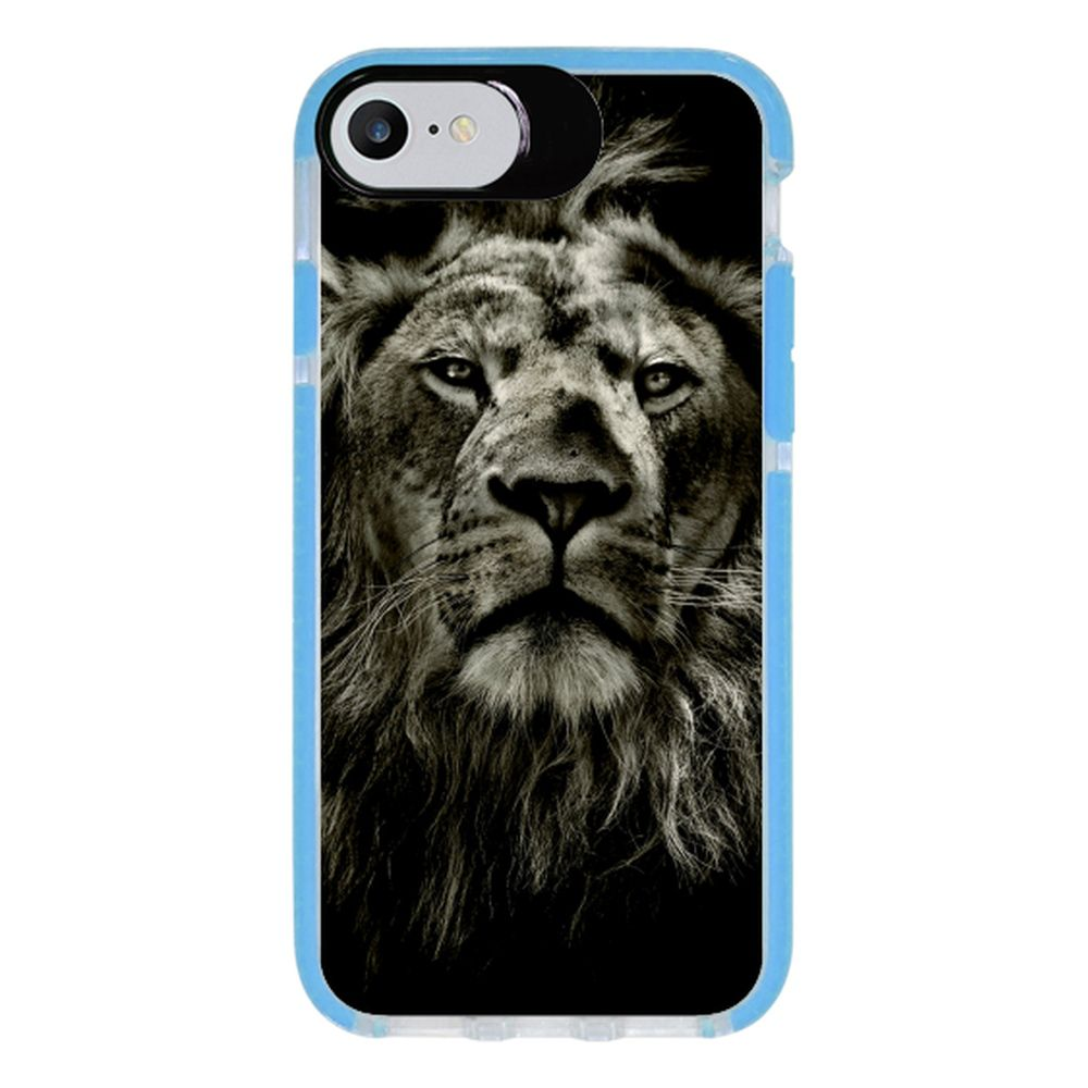 Capa Personalizada Intelimix Intelishock Azul Apple iPhone 7 - Pets - PE08