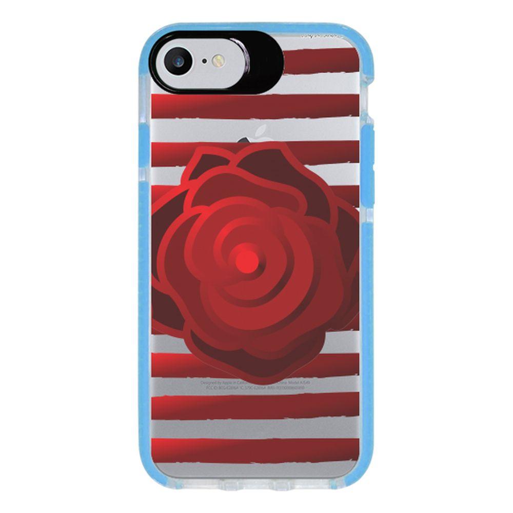 Capa Personalizada Intelimix Intelishock Azul Apple iPhone 7 - Primavera - PV08