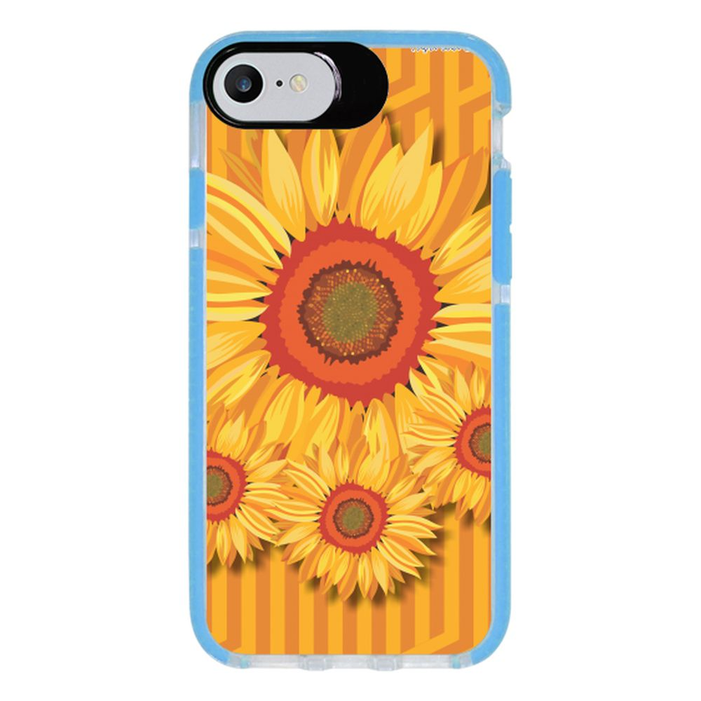 Capa Personalizada Intelimix Intelishock Azul Apple iPhone 7 - Primavera - PV10