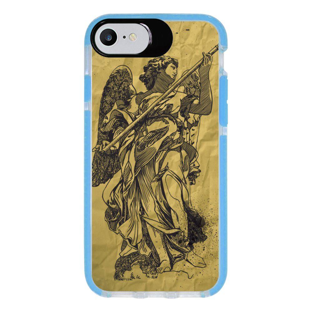 Capa Personalizada Intelimix Intelishock Azul Apple iPhone 7 - Religião - RE01