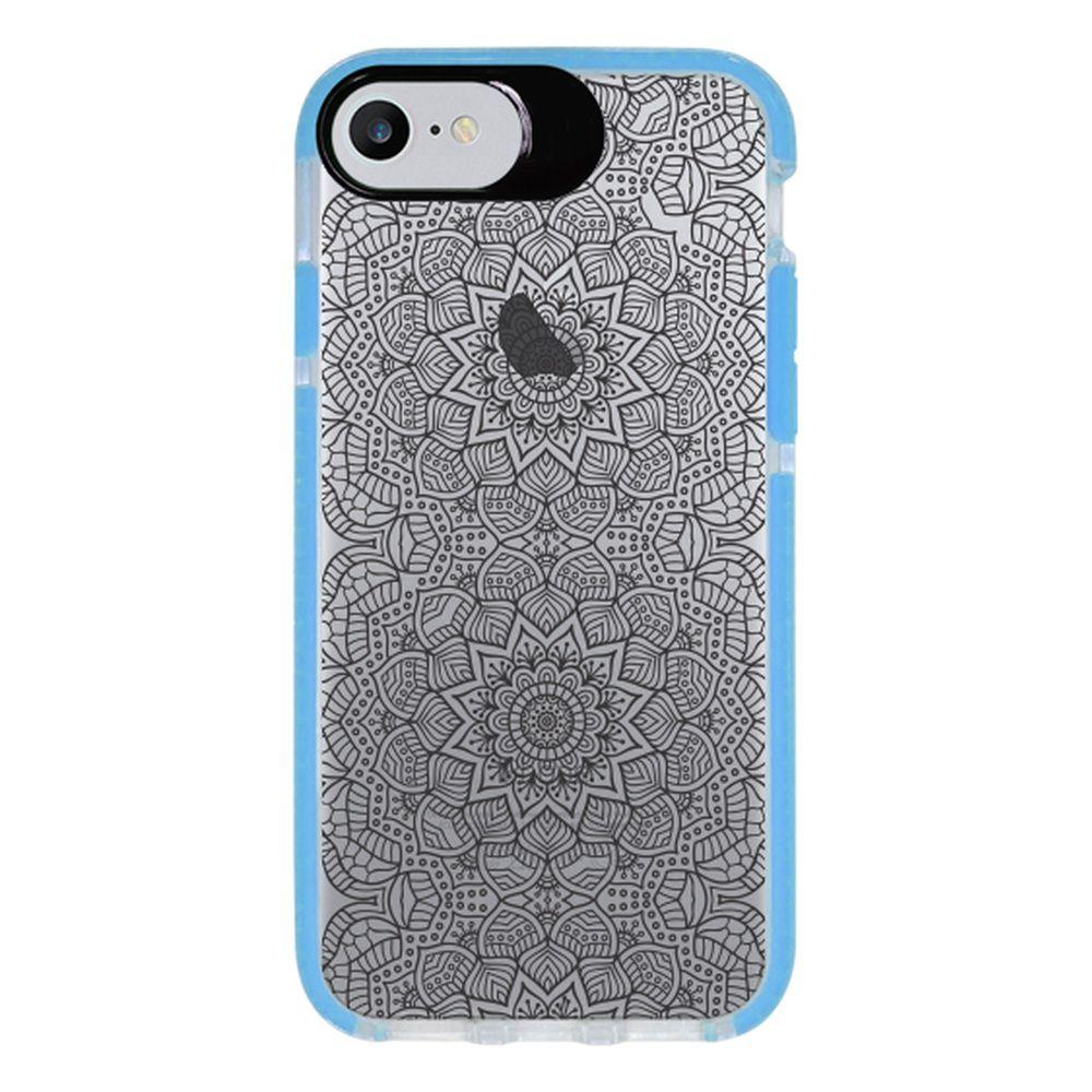 Capa Personalizada Intelimix Intelishock Azul Apple iPhone 7 - Rendas - TP292