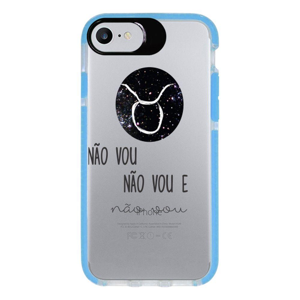 Capa Personalizada Intelimix Intelishock Azul Apple iPhone 7 - Signos - SN14