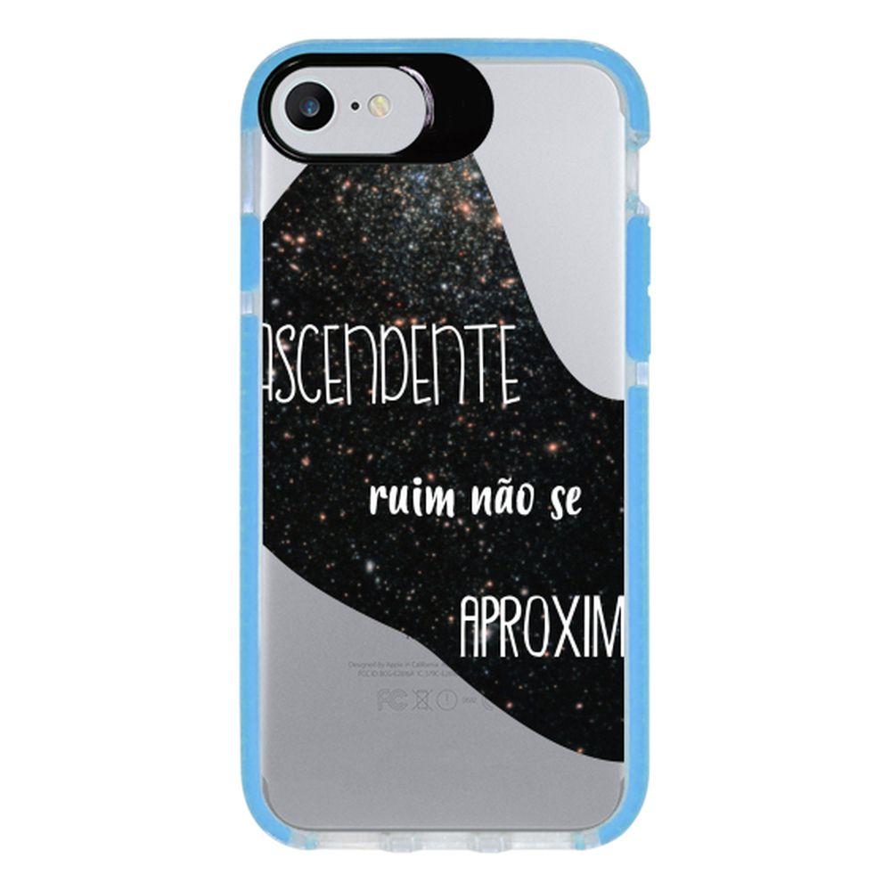 Capa Personalizada Intelimix Intelishock Azul Apple iPhone 7 - Signos - SN38