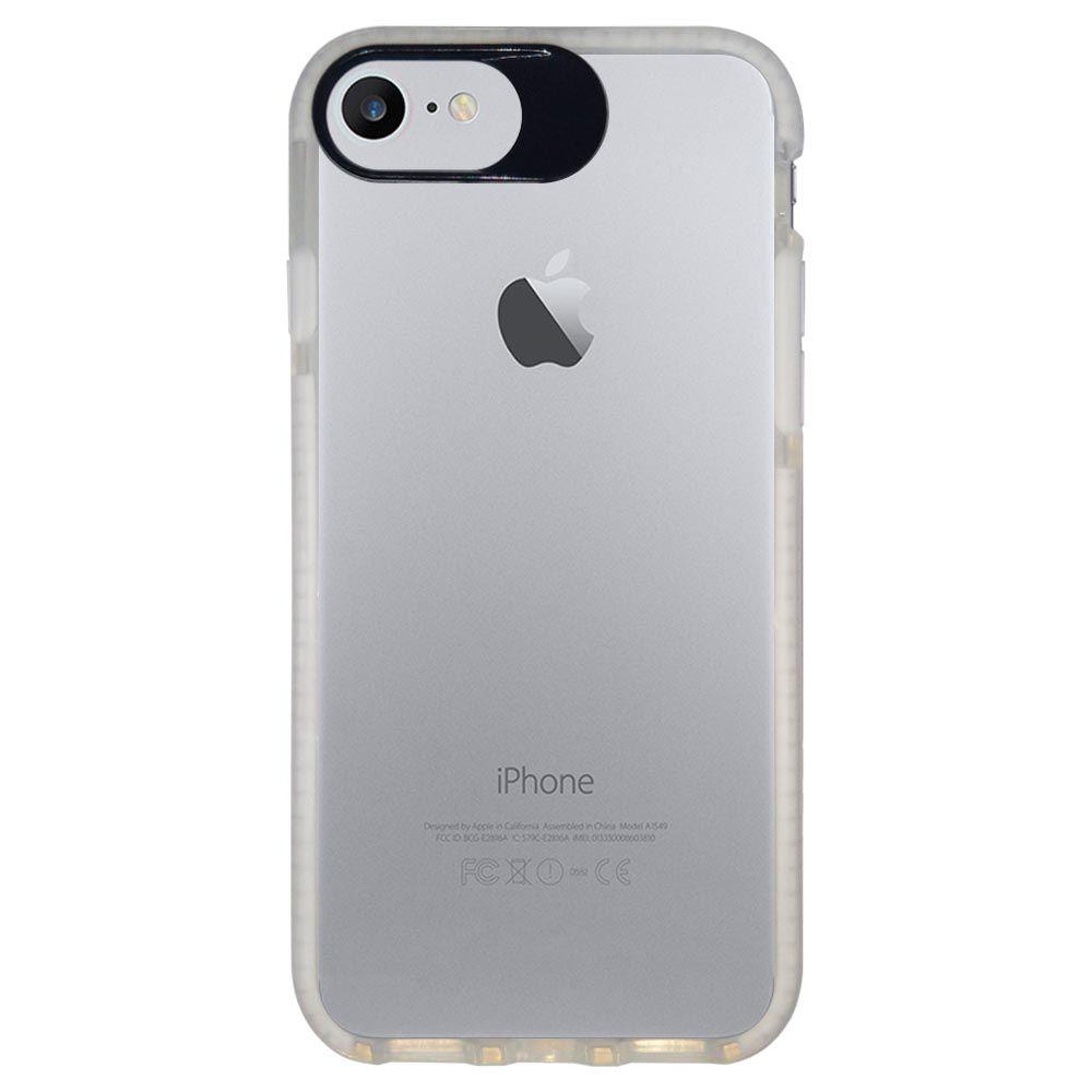 Capa Personalizada Intelimix Intelishock Branca Apple iPhone 7 - Cerejeira - TP37