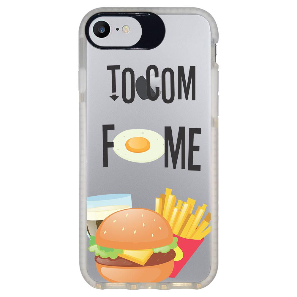 Capa Personalizada Intelimix Intelishock Branca Apple iPhone 7 - Food - TP330