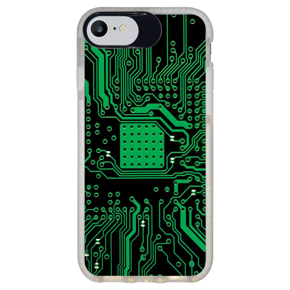 Capa Personalizada Intelimix Intelishock Branca Apple iPhone 7 - Hightech - HG08