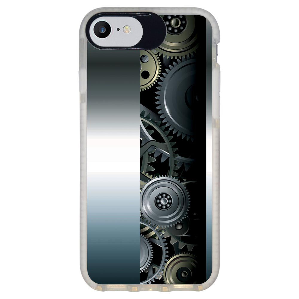 Capa Personalizada Intelimix Intelishock Branca Apple iPhone 7 - Hightech - HG09
