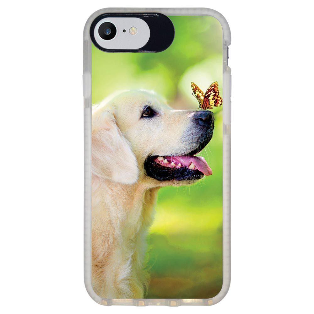 Capa Personalizada Intelimix Intelishock Branca Apple iPhone 7 - Pets - PE33