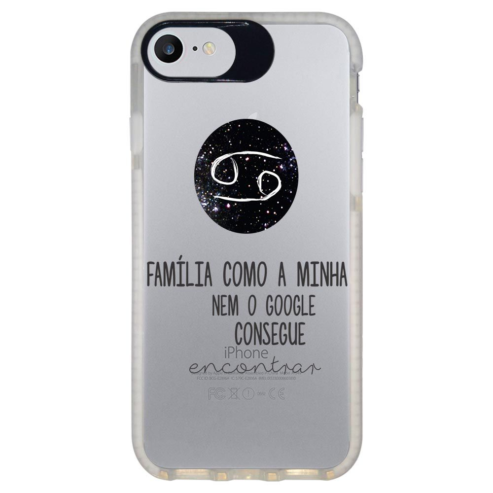 Capa Personalizada Intelimix Intelishock Branca Apple iPhone 7 - Signos - SN16