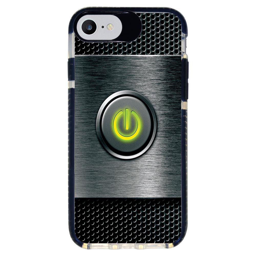 Capa Personalizada Intelimix Intelishock Preta Apple iPhone 7 - Hightech - HG07