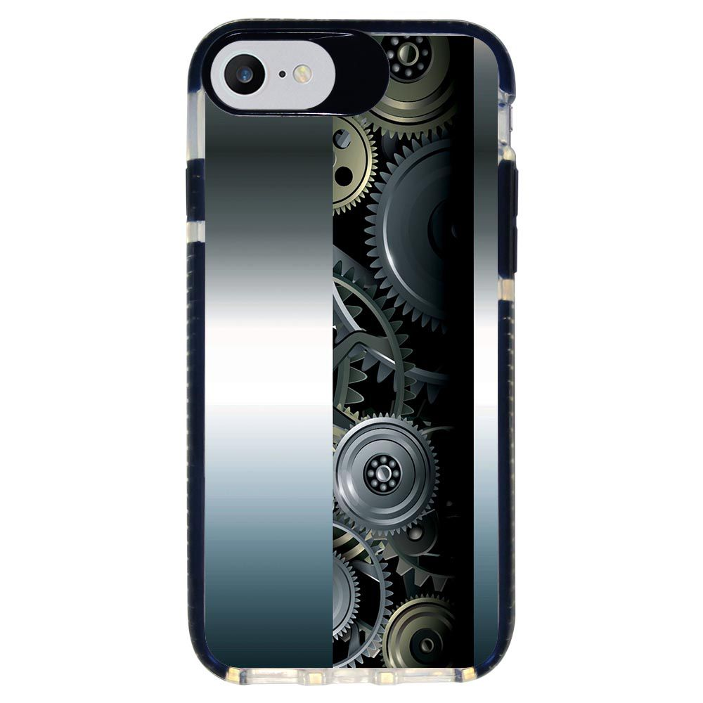 Capa Personalizada Intelimix Intelishock Preta Apple iPhone 7 - Hightech - HG09