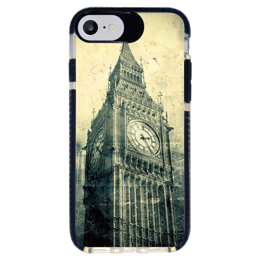 Capa Personalizada Intelimix Intelishock Preta Apple iPhone 7 - London - CD18
