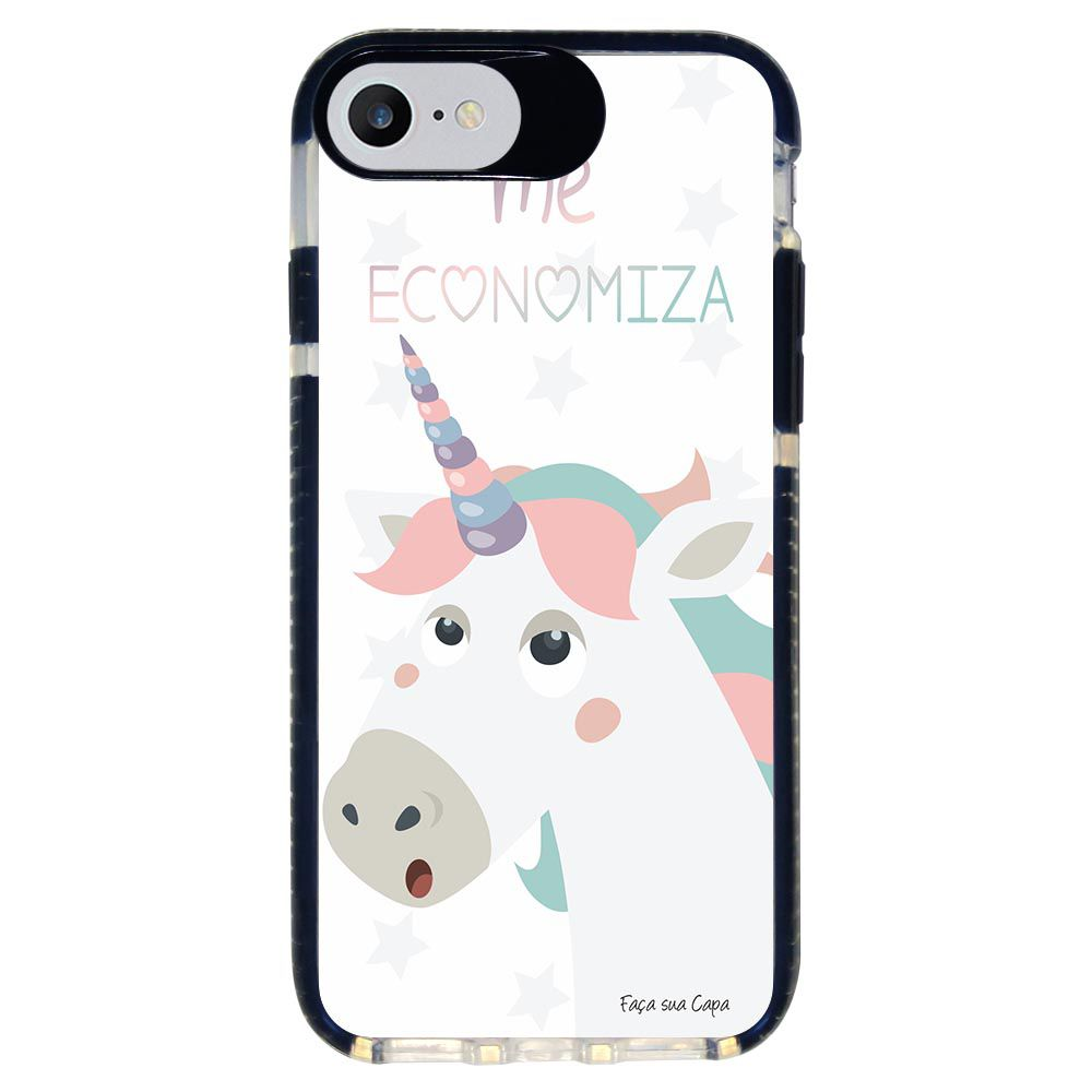 Capa Personalizada Intelimix Intelishock Preta Apple iPhone 7 - Memes - ME05