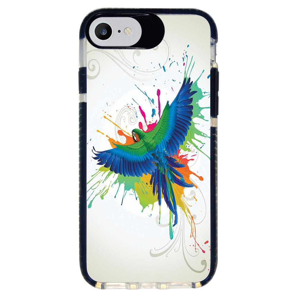 Capa Personalizada Intelimix Intelishock Preta Apple iPhone 7 - Pets - PE18