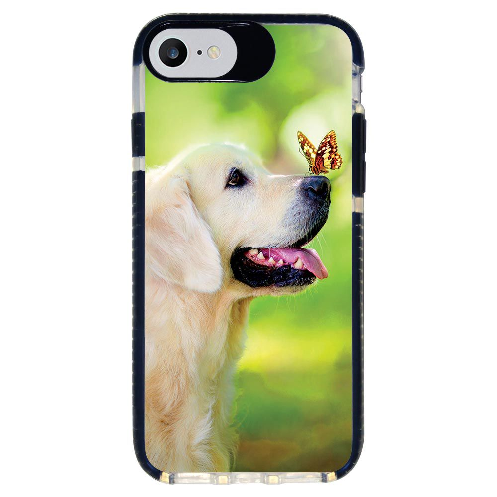 Capa Personalizada Intelimix Intelishock Preta Apple iPhone 7 - Pets - PE33