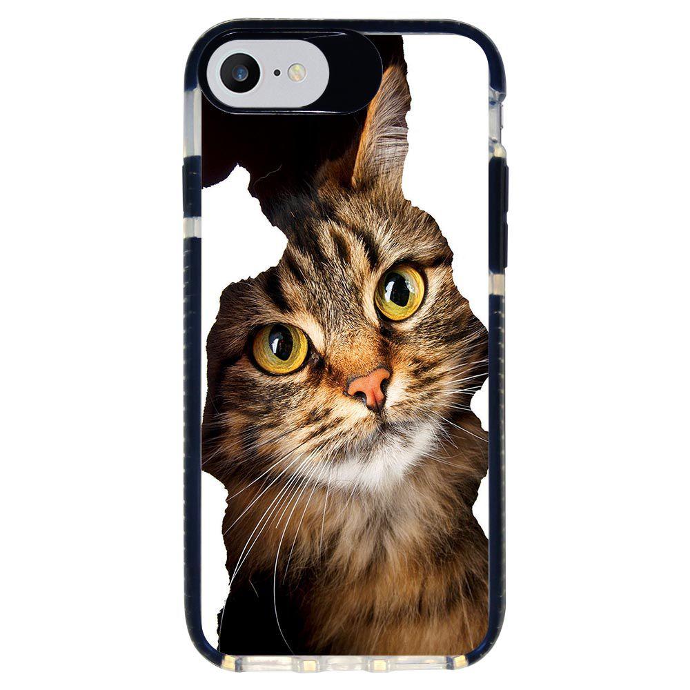 Capa Personalizada Intelimix Intelishock Preta Apple iPhone 7 - Pets - PE52