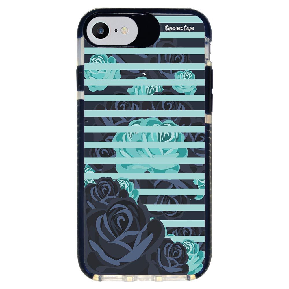 Capa Personalizada Intelimix Intelishock Preta Apple iPhone 7 - Primavera - PV03