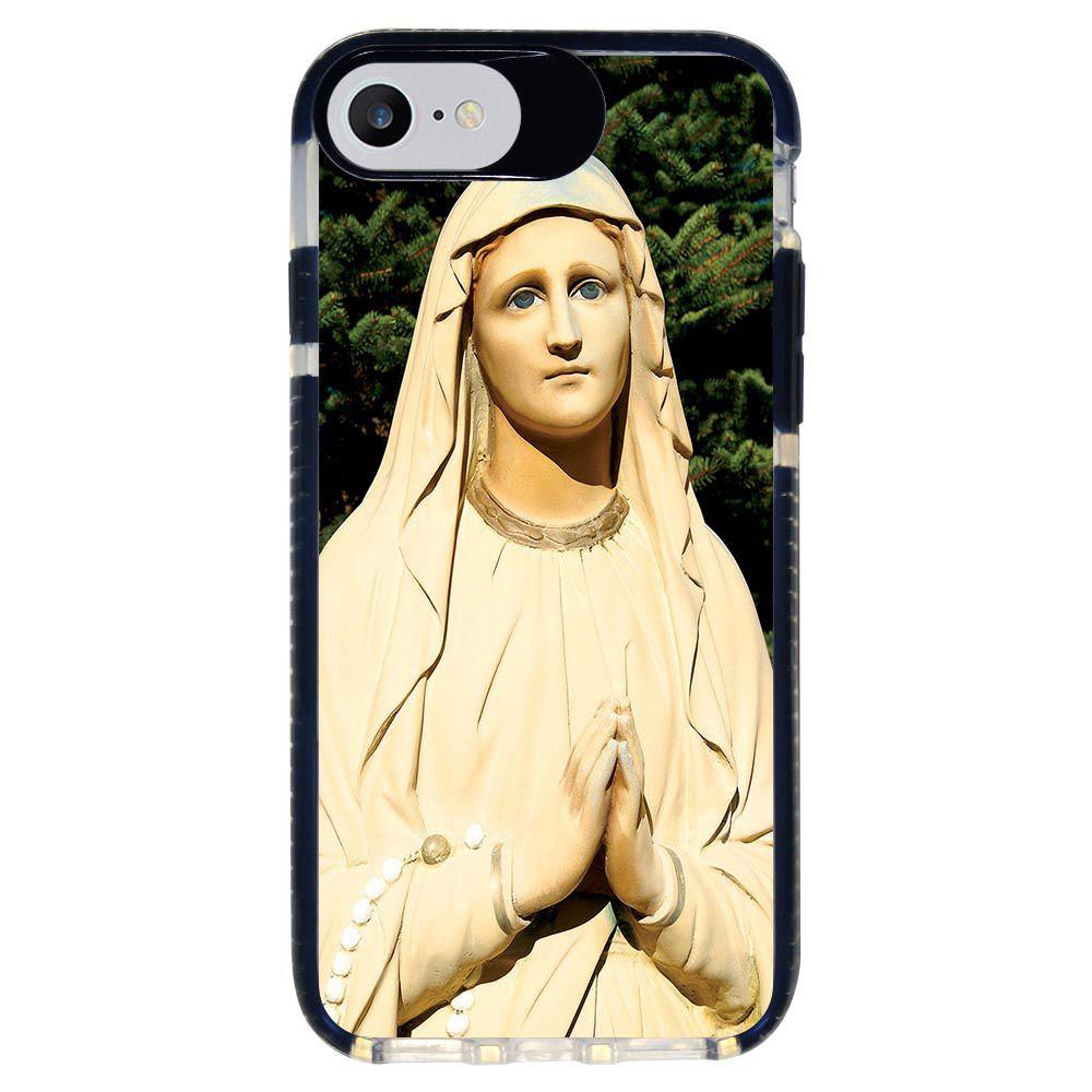 Capa Personalizada Intelimix Intelishock Preta Apple iPhone 7 - Religião - RE07