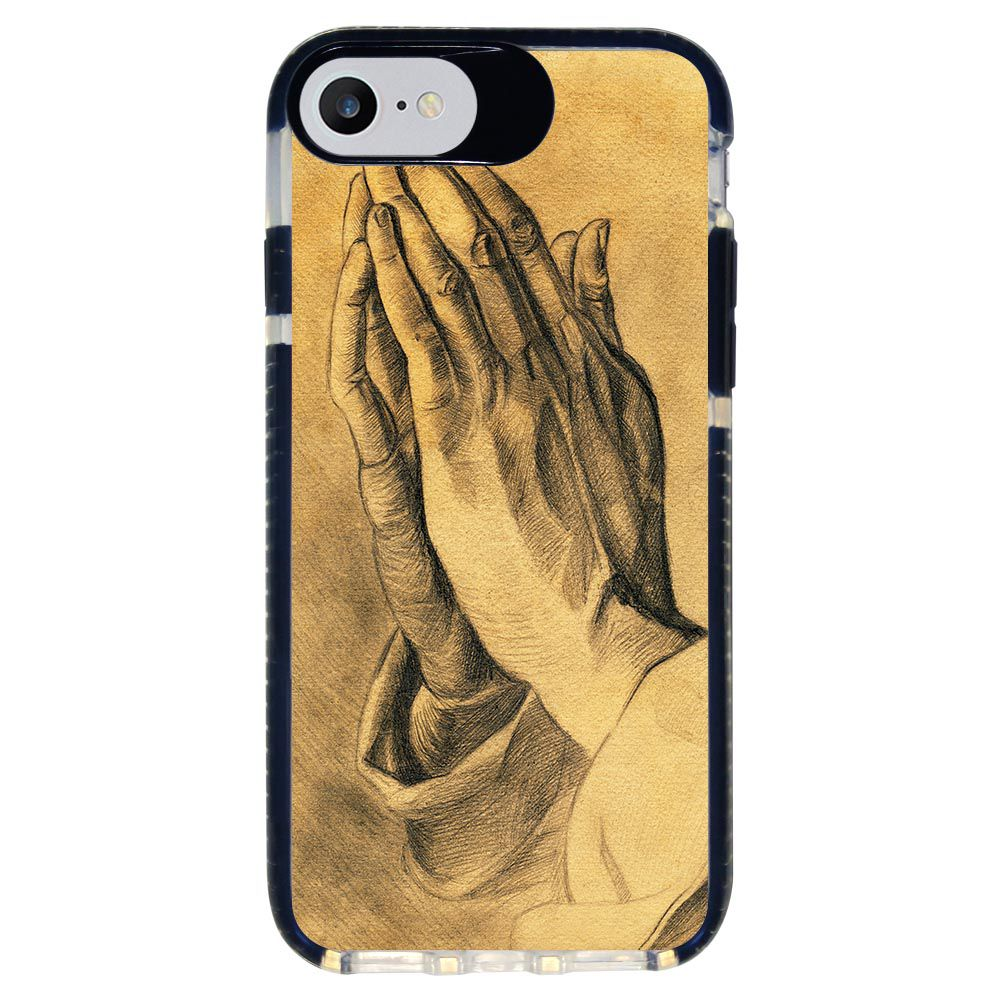 Capa Personalizada Intelimix Intelishock Preta Apple iPhone 7 - Religião - RE16