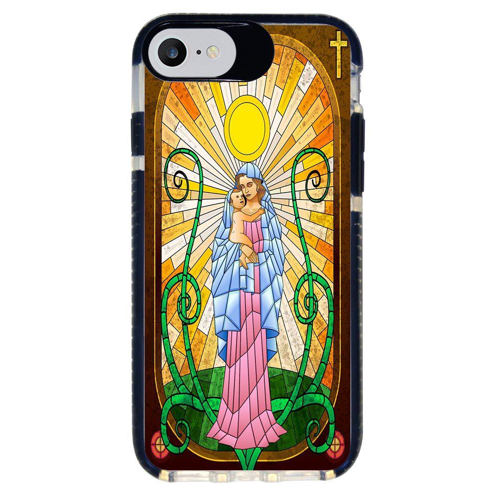 Capa Personalizada Intelimix Intelishock Preta Apple iPhone 7 - Religião - RE19