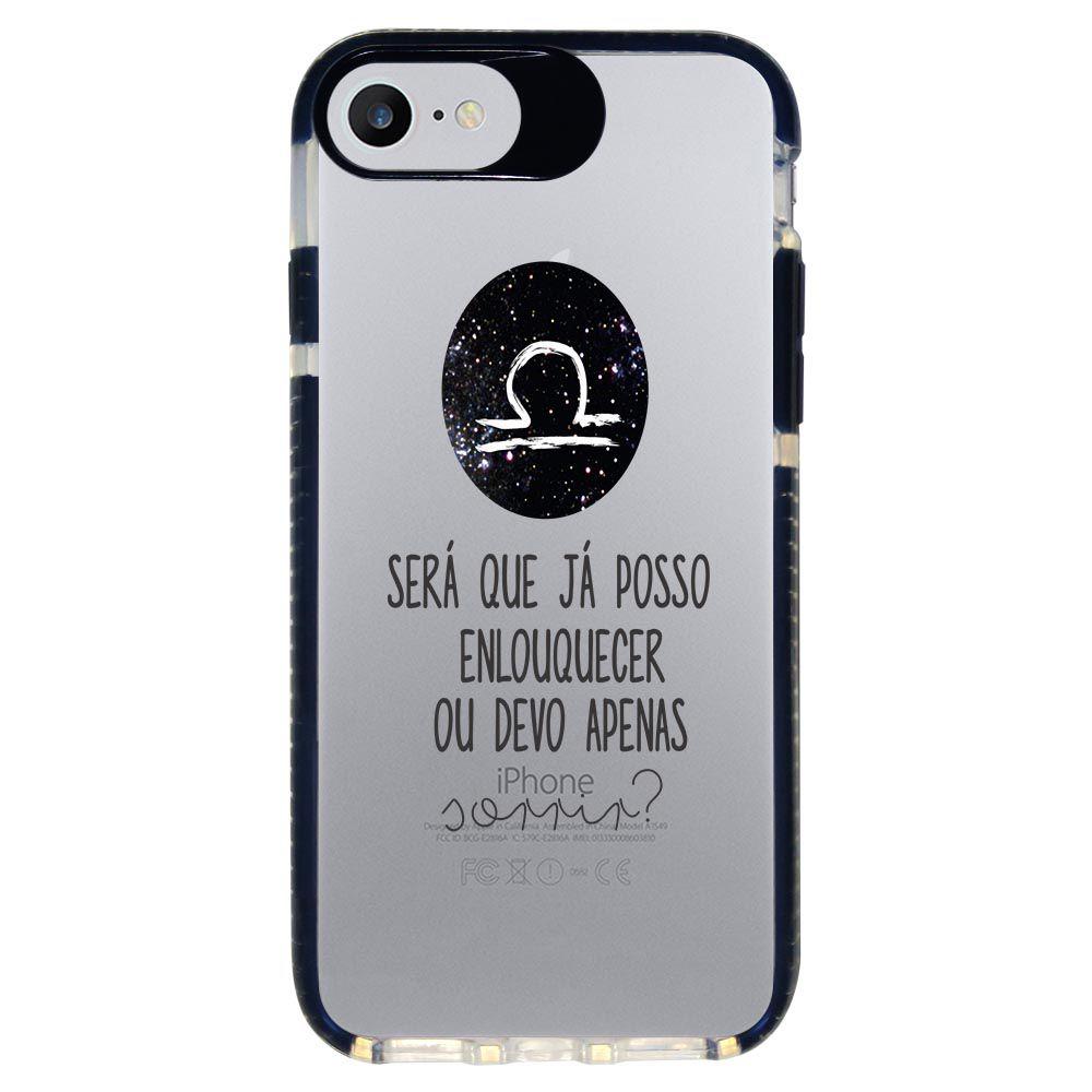 Capa Personalizada Intelimix Intelishock Preta Apple iPhone 7 - Signos - SN19