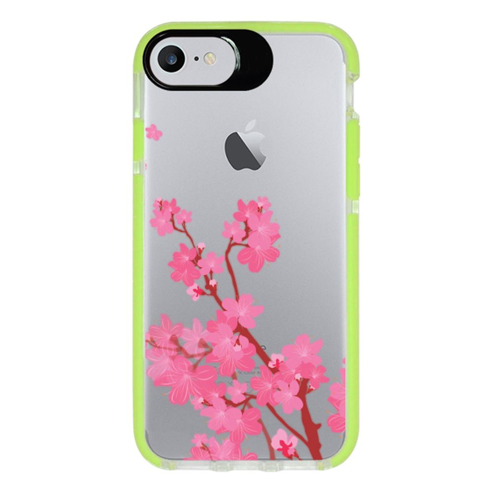 Capa Personalizada Intelimix Intelishock Verde Apple iPhone 7 - Cerejeira - TP37