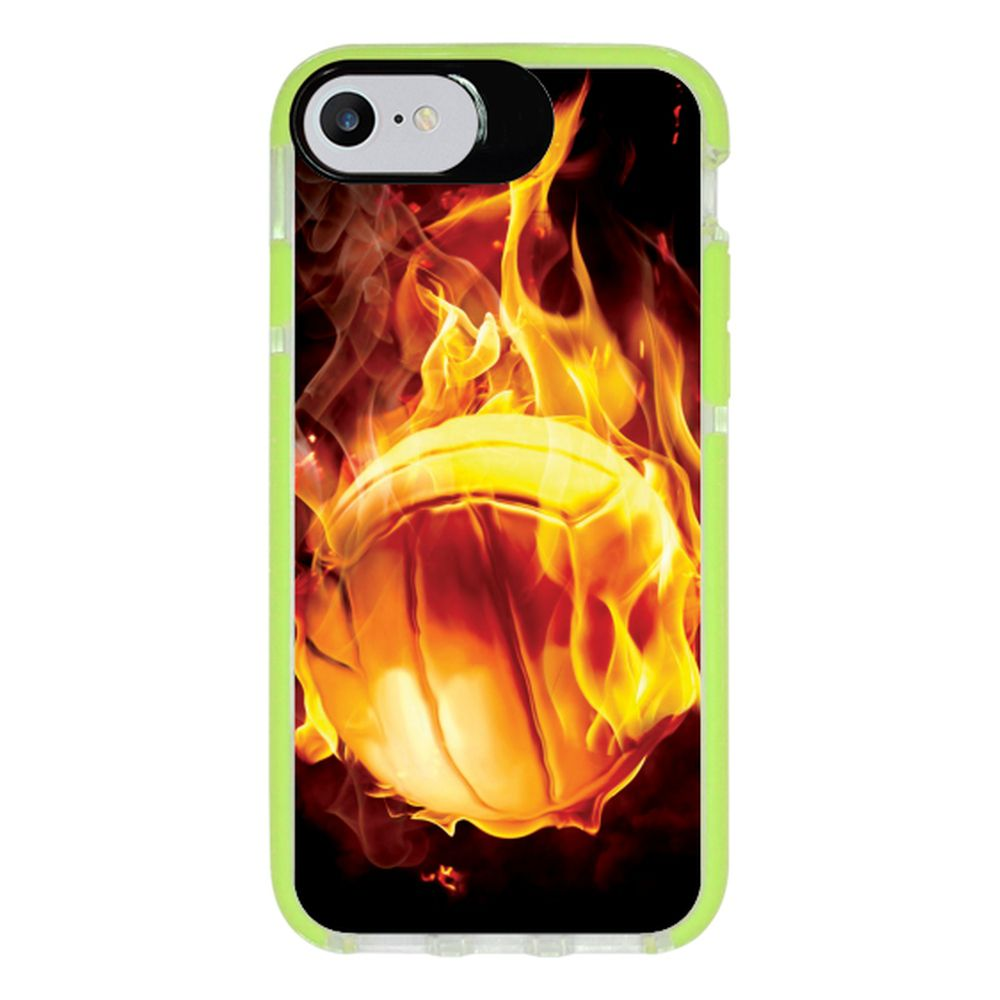 Capa Personalizada Intelimix Intelishock Verde Apple iPhone 7 - Esportes - EP05