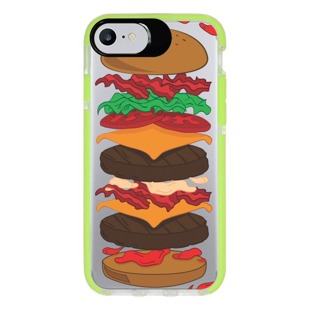 Capa Personalizada Intelimix Intelishock Verde Apple iPhone 7 - Food - TP107