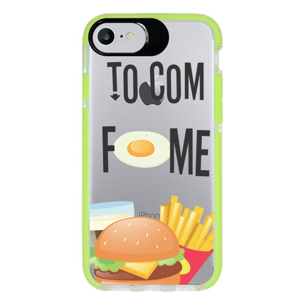 Capa Personalizada Intelimix Intelishock Verde Apple iPhone 7 - Food - TP330
